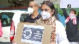 Delhi journalists stage protest, demand inquiry into alleged suicide of journo at AIIMS.mp4