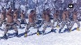 Watch: ITBP jawans practice martial arts at 11000 feet in U'khand's Auli