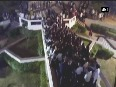 Watch railing collapses after students gather over it
