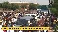 Opposition leaders march towards Vijay Chowk from Parliament, demand repeal of farm laws