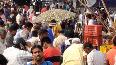 COVID Huge crowd gathers at Moradabads vegetable market