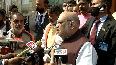 Amit Shah pays tribute to Swami Vivekananda in Kolkata