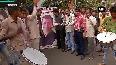 Congress workers celebrate Rahul Gandhi s elevation