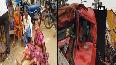4 killed, several injured in bus-lorry collision in AP's Vizianagaram