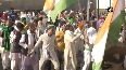 Bharat Bandh: Farmers sing and dance at Ghazipur border