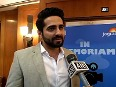 Ayushmann Khurrana spotted at Day 2 of sixth Jagran Film Festival