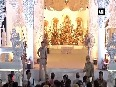 Thailand's White Temple-themed Durga Puja pandal attracts devotees
