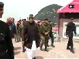 Watch HM Rajnath Singh interacts with ITBP soldiers at Nathula Pass