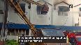 Fire breaks out at Diesel Locomotive Works building in Varanasi.mp4