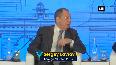 Raisina Dialogue 2020 Russian Foreign Minister shares his idea on greater Eurasia