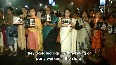 BJP stages candlelight protest against killing of party worker in Siliguri.mp4