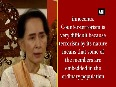 aung san suu kyi video