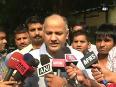 Fight is between aap and bjp aap on delhi polls
