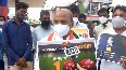 Congress stage protests in Karnataka against fuel price hike