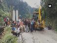 Badrinath national highway closed due to landslides reopens