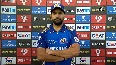 Wanted to put pressure on DC s key bowler, Ashwin Rohit Sharma after winning IPL 2020 trophy.mp4
