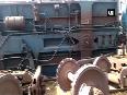 Goods train derails near Mathura station