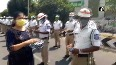 Andhra girl steps up to help traffic police by providing them masks, gloves