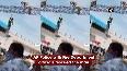 Andhra Police rescue man climbing up on high structure in Chittoor