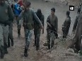 Watch CRPF men carry woman suffering from fever on stretcher for 7 km