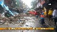 Portion of 4-storey vacated building collapses in Mumbai