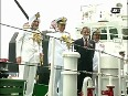 Indian coast guard commissions ICGS Arinjay at Southern Naval Base