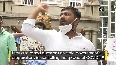 Youth Congress protest against Karnataka govt over corruption in COVID-19 equipment purchasing.mp4