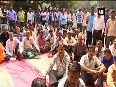 EDMC sanitation workers protest outside Mayor s house over non-payment of dues