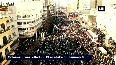 Massive crowd gathers on Tehran's streets for funeral of Qasem Soleimani