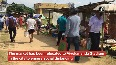 Agartala market shifts to open area to ensure social distancing due to COVID-19.mp4