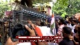 Kerala gold smuggling case Youth Congress workers demand CM s resignation.mp4