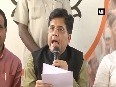People will be conveyed of Centre s economical policies Piyush Goyal on Anti Black Money Day