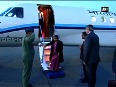EAM Sushma Swaraj arrives in Moscow