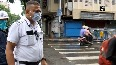 Streets wear deserted look amid lockdown, sanitisation underway in parts of West Bengal.mp4