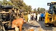 1 died, several injured after bus overturns in Kanpur
