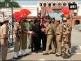 70th Independence Day BSF-Pak rangers exchange sweets at Wagah border