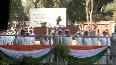AK Antony hoists Congress flag on party's Foundation Day