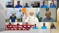 PM Modi interacts with Olympics-bound athletes