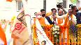 GHMC polls Amit Shahs roadshow attracts massive crowd.mp4
