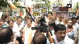 Watch BJP s SC Morcha stages protest against killing of BJP worker in WB