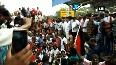 Cauvery issue Opposition parties stage rail-roko protest in Tamil Nadus Coimbatore