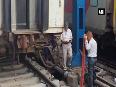 Guard coach of Jammu Rajdhani Express derails at New Delhi Railway Station