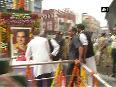 Rahul Gandhi pays tribute to Rajiv Gandhi in Hyderabad