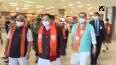 JP Nadda arrives in Ahmedabad.mp4
