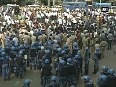 Patel Agitation Violent clash breaks out between police and protesters in Ahmedabad