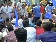 Kerala Law Academy row Student  protest in front of University