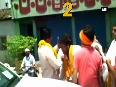 Watch Supporters welcome BJP MLA with rounds of fire