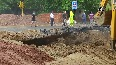 Delhi Repair works under IIT flyover continue
