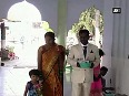 People from different faiths visit shrine in Karnataka showing communal harmony