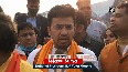 Police fire tear gas shells to disperse BJP workers protesting against WB s govt in Siliguri.mp4